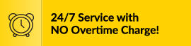All In One Services for 24/7 with no overtime charge