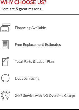 Why Choose All In One Services HVAC in Wilmington, NC