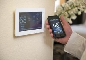 pairing Programmable Thermostat with phone
